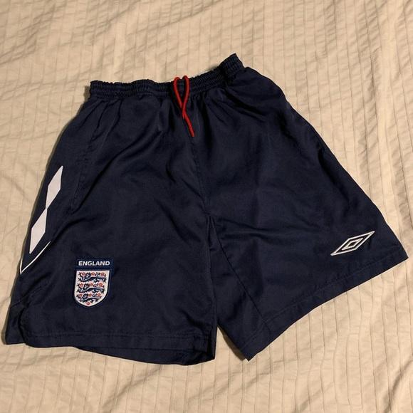 England National team Umbro shorts